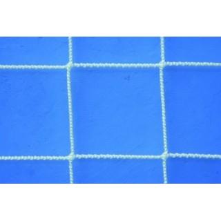 Plasa protectie polipropilena, fir 3,0mm, ochi 100x100, alba