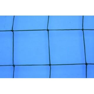 Plasa protectie polietilena, fir 2,5mm, ochi 130x130mm, verde