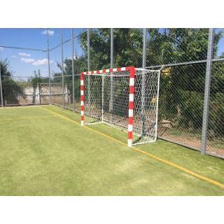 Poarta fotbal 3X2m otel, profil patrat 80x80mm