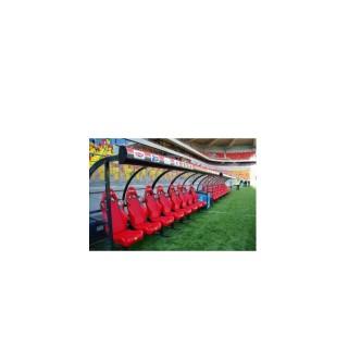 Banca rezerve fotbal cu fotolii