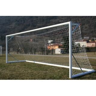 Poarta fotbal 7.32x2.44m mobila, certificata EN 748