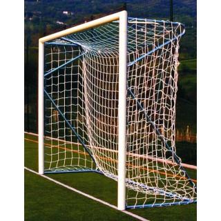 Poarta fotbal 3x2m aluminiu, profil rotund 80mm