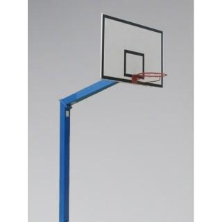 Consola de baschet monostalp proiectie 100cm, panou 180x105cm