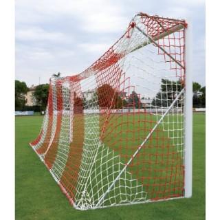 Poarta fotbal 5x2m aluminiu mobila, profil rotund 80mm