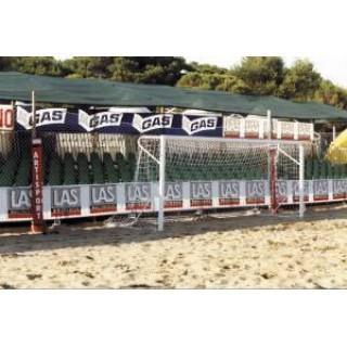 Plase porti fotbal de plaja 5.5x2.2m.