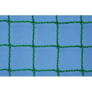 Plasa protectie polietilena, fir 3,0mm, ochi 45x45mm, verde