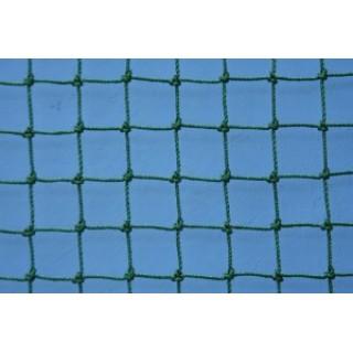 Plasa protectie polietilena, fir 2,0mm, ochi 25x25mm, verde