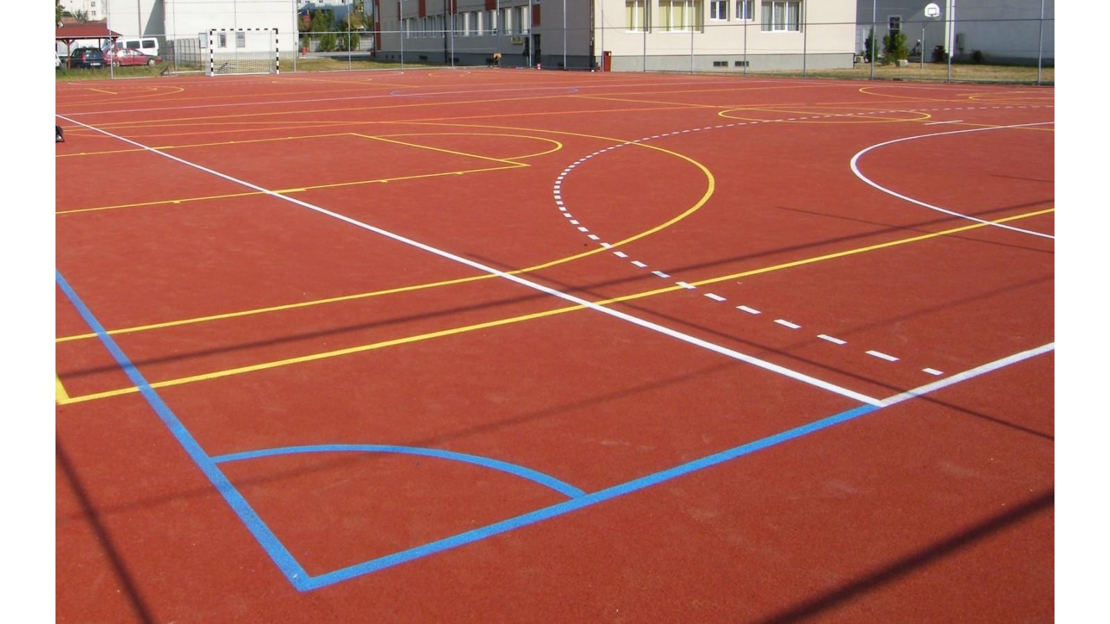 Pardoseli terenuri de sport