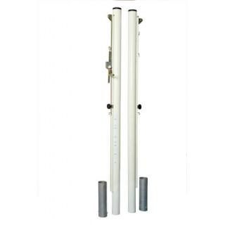 Stalpi volei / multifunctionali otel profil rotund 76mm + socluri si capace