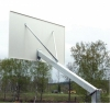 Consola baschet monostalp proiectie 120cm, panou 180x105cm