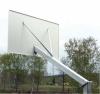 Consola baschet monostalp proiectie 170cm, panou 180x105cm